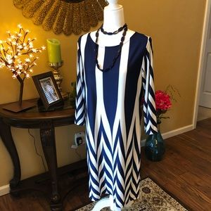 🔥FINAL SALE MARKDOWN🔥Blue & White Striped Dress